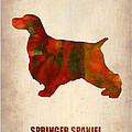 Springer Spaniel Poster by Naxart Studio
