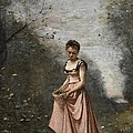 Springtime Of Life by Jean Baptiste Camille Corot