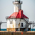 St. Joseph Michigan Lighthouse Picture  by Paul Velgos