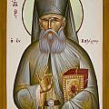 St Savvas Of Kalymnos by Julia Bridget Hayes