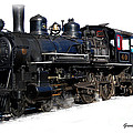 Steam Locomotive by Gunter Nezhoda