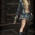 Steampunk Vixen by Maynard Ellis