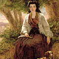 Sternes Maria, From A Sentimental by William Powell Frith