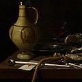 Still Life by Jan Jansz van de Velde