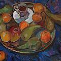 Still Life On A Tray by Juliya Zhukova
