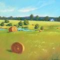 Summer Meadow by Celine  K Yong