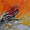 Sunrise - Abstract by Ismeta Gruenwald