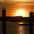 Sunrise Over Topsail Island by Mike McGlothlen
