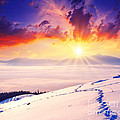 Sunset In The Winter by Boon Mee