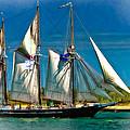 Tall Ship Vignette by Steve Harrington