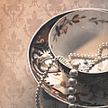 Teacup And Pearls by Jan Bickerton