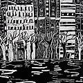 Thames In Winter by Hilary Rosen