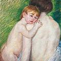 The Bare Back by Mary Cassatt Stevenson