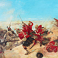 The Black Watch At The Battle by Henri-Louis Dupray