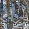 The Christening Gate In Lausanne, C.1861 by Matthijs Maris