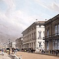 The Club Houses, Pall Mall, 1842 by Thomas Shotter Boys