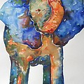 The Colorful Elephant by Brandi  Hickman