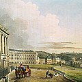 The Crescent, From Bath Illustrated by John Claude Nattes