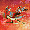 The Empress - Flight Of Phoenix - Red Version by Bedros Awak