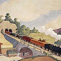 The First Paris To Rouen Railway, Copy by French School