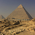 The Great Pyramids Of Giza Egypt  by Ivan Pendjakov