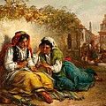 The Gypsies by Thomas Kent Pelham