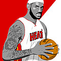 The King Lebron James by Paul Dunkel