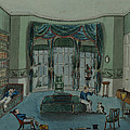 The Library, C.1820, Battersea Rise by English School