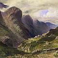 The Pass Of Glencoe, 1852 by William Bennett