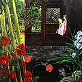 The Pond Garden by D L Gerring