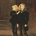 The Princes Edward And Richard by Sir John Everett Millais