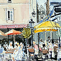 The Square At St. Malo by Felicity House