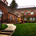 The Tke House On The Wsu Campus by David Patterson