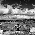 Three Headstones by Mick Burkey