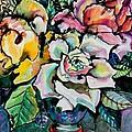 Three Roses by Yelena Tylkina