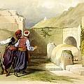 Tomb Of Joseph At Shechem 1839 by Munir Alawi