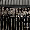 Typewriter by Bernard Jaubert