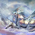 Unicorn Of Peace by Carol Cavalaris