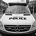 Vancouver Police Mercedes Response Van Vehicle Bc Canada by Joe Fox