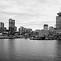 Vancouver Waterfront Skyline At Gastown Bc Canada by Joe Fox