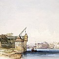 View At Basle, 1842 by John Harper