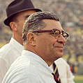 Vince Lombardi Surveying The Field by Retro Images Archive