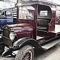 Vintage Chevrolet Pickup Truck by Douglas Barnard