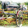 Vintage Wagon On Blue Ridge Parkway IIi by Dan Carmichael