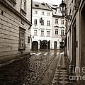Vintage Walk In Prague by John Rizzuto
