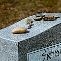 Visitation Stones On Jewish Grave by Amy Cicconi
