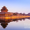 Wall And Moat Forbidden City Beijing by Colin and Linda McKie