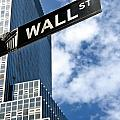Wall Street Street Sign New York City by Amy Cicconi