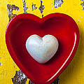 White Heart Red Heart by Garry Gay