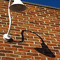 White Lamp With A Dark Secret by Guy Ricketts